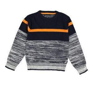 Navy blue striped Crewneck Sweater